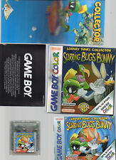 Nintendo GameBoy Color Starring Bugs Bunny Looney Tunes Collector COMPLETO
