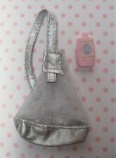 1999 WALKING BARBIE access~SILVER BACKPACK/Lotion for BABY Doll KRISSY STROLLER