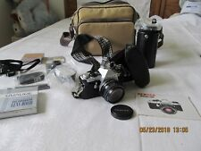 VINTAGE PENTAX ME SUPER 35 mm CAMERA CASE LENS ACCESSORIES MANUAL