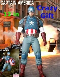 Marvel Avengers Captain America Action Figure Toys 12'' Empire 30 Crazy Legends