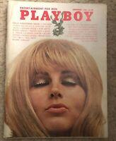 PLAYBOY DECEMBER 1969 * GOOD CONDITION * GLORIA ROOT