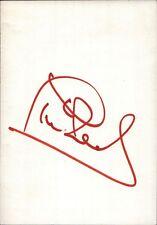 Phil Neal England EM 80 FC Liverpool Fußball Original Autogramm (Flo-3860