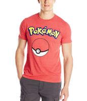 Pokemon Pokeball Logo Adult T-Shirt
