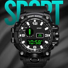 Luxury Mens Digital LED Watches waterproof Date Sport Outdoor Electronic Watch