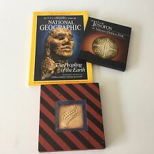 Peruvian Artifacts Inca Enrico Poli Museum Book, DVD, National Geographic Oct 88