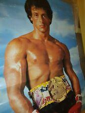 Affiche Rocky Sylvester Stallone