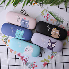 Glasses Box Cute Cat Cartoon Hard Case Protector For Eyeglasses Portable Storage