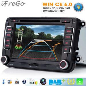 Für VW Jetta Caddy Seat Leon CC GPS DVD Autoradio Automotive-Multimedia-Systeme