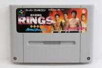RINGS Astral Bout 3 SFC Nintendo Super Famicom SNES Japan Import US Seller I5394