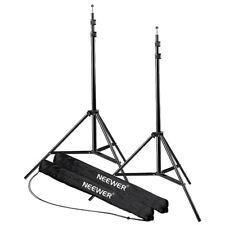 Neewer 2pcs 7 Feet /210cm Studio Light Stands Heavy Duty Light Stands