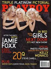Playboy Magazine November 2005 Jamie Fox Interview / The Girls Next Door
