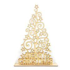 Laser Cut Freestanding 'Merry Christmas' Star Swirl Tree