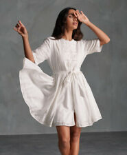 Superdry Ellison textured Lace dress Oyster