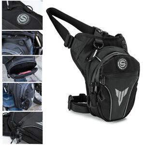 Men Drop Leg Bag Outdoor Waist Hip Thigh Fanny Pack Chest/Messenger/Shoulder Bag