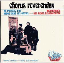 CHORUS REVERENDUS Dans son euphorie 1967 Germinal Tenas Reissue  2017 pop-sike