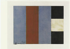 Art Carte/postcard Art-sean scully: santa Barbara, série # 1
