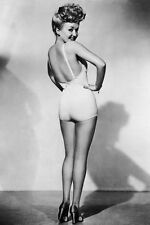 New 5x7 Photo: Betty Grable and her Legs - Famous Pin Up Girl of World War II