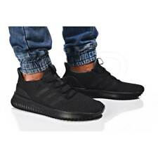 Men's Adidas Cloudfoam Ultimate Triple Black BC0018 Running Shoes Multi Size NEW