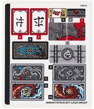 LEGO 70627 - Ninjago - Dragon's Forge - STICKER SHEET