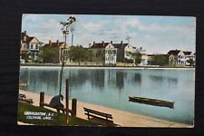 Postcard Colonial Lake Charleston South Carolina USA Posted 1911