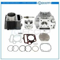 Cylinder Head Piston Gasket Top End Kit For Honda CRF70 ATC70 XR70 TRX70