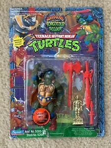 TMNT 1994 Ninja Turtles Forgotten Sewer Savage Leo Leonardo Action Figure MOC