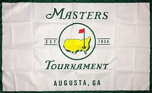Masters PGA Golf Sports Flag 3x5 ft Banner Augusta National Golf Club Man-Cave