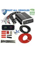PROJECTA IDC25 DUAL BATTERY SYSTEM DC TO DC CHARGER MPPT SOLAR BUNDLE