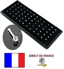 Lot piercings nez strass style diamant 60 pcs revendeur BIJOUX