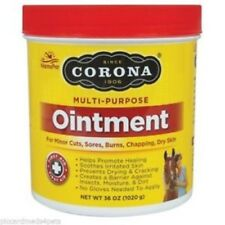 CORONA OINTMENT Lanolin Enriched Formula & Antiseptic Horses Other Animals 36oz