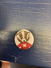 Vintage Bucky Badger Pin Uw Madison