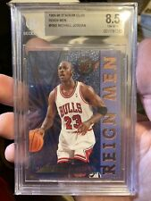 1995-96 Stadium Club Michael Jordan Reign Men #RM2 BGS 8.5 NM- MINT. Bulls