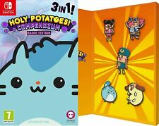 HOLY POTATOES COMPENDIUM BADGE EDITION SWITCH GAME
