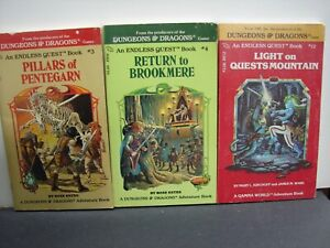 3 Dungeons & Dragons books # 3, # 4 & # 12 ( PB's ) See Disc.