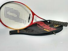 """New listing Prince Synergy Series Power Pro Titanium 27"""" S Tennis Racket w/ Cover"""