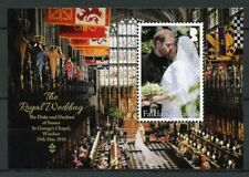 Falkland Isl 2018 MNH Prince Harry & Meghan Royal Wedding 1v M/S Royalty Stamps