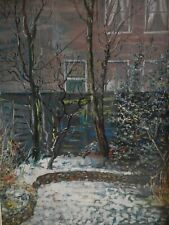 Dick Landsman City garden in winter