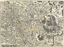 NAMUR - STADT & UMGEBUNG - Matthias Quad - Kupferstich 1589