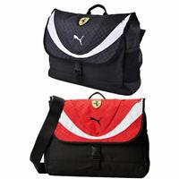 Puma Ferrari Replica Messenger Shoulder Bag Unisex Red Black Sports 072236 01/02