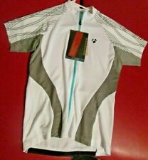 BONTRAGER  CYCLING BICYCLE BIKE  SIZE SMALL SHORT SLEEVE SHIRT WSD JERSEY WHITE