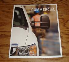 Original 2012 Chevrolet Commercial Truck Sales Brochure 12 Chevy Silverado