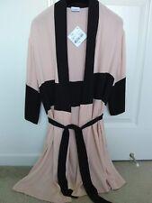 $294 NWT La Perla Clio Colorblock Short Kimono Robe M