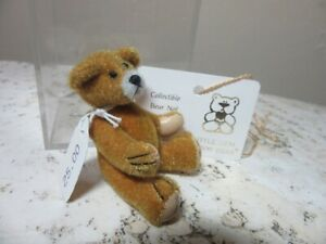 OOAK Artist Miniature jointed Bear. Deborah Canham Little Gem