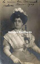 cuba, HAVANA, La Reina del Carnaval de La Habana Emilia Garcia (1909) RPPC