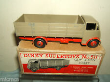 DINKY SUPERTOYS MODEL No.511     GUY 4-TON LORRY     VN MIB