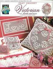 Dainty Hearts Christmas Valentine Ornaments NEW Vanna Crochet Pattern Leaflet