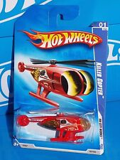 Hot Wheels 2009 HW City Works #107 Killer Copter Red Channel 68