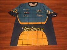 Precisport Fernando Alonso #5 Renault 2005 Men F1 Racing Shirt Size 2XL *read