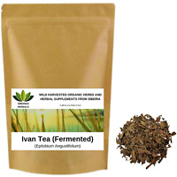 Organic Ivan Tea Fermented Fireweed / Willowherb (Epilobium Angustifolium)