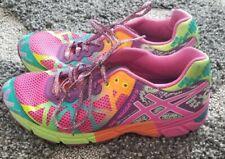 Asics Gel Noosa Tri 9 Neon Running Shoes C401N Women's Size 7